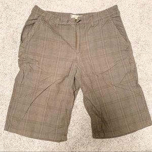 American Rag Gray Checkered Shorts